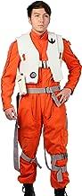 Xcoser Poe Dameron Costume Deluxe Orange Jumpsuit Suit Halloween Cosplay Outfit