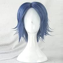 Seiichi Yukimura Prince Of Tennis Short Blue Cosplay Wig + Wig Cap