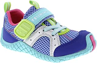 TSUKIHOSHI Kids Girl's Marina (Toddler/Little Kid) Ice/Mint Quick-Dry Sneaker