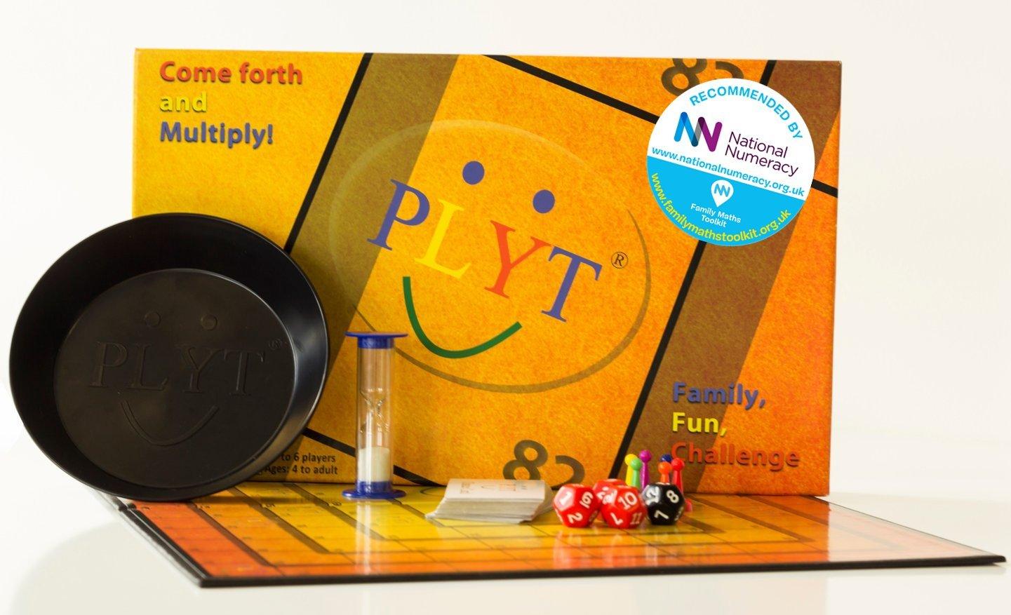 PLYT – Juegos de Mesa Divertidos, para Toda la Familia, niños y Adultos e Ideales para Mejorar en matemáticas: Amazon.es: Juguetes y juegos