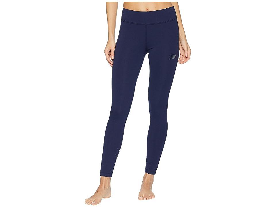New Balance Athletics Leggings (Pigment White) Women