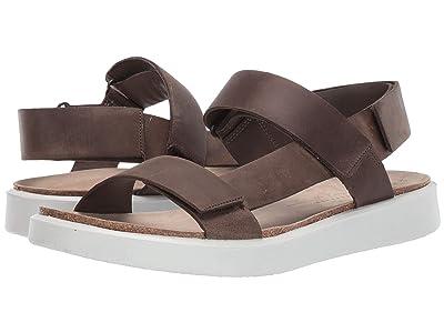 ECCO Corksphere Sandal (Tarmac) Men