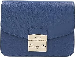 Luxury Fashion   Furla Womens 1021845 Blue Shoulder Bag   Fall Winter 19