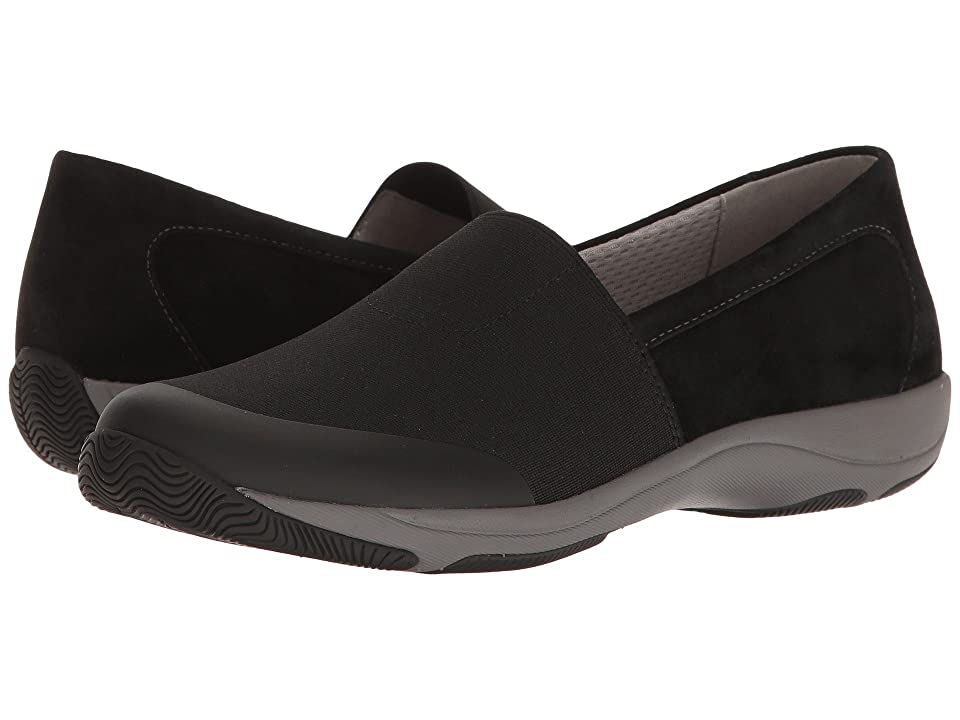 Dansko Harriet (Black Stretch/Suede) Women