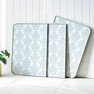 インテリア雑貨 日用品 バス用品 トイレ用品 風呂ふた 78×158cm(AGパネル風呂ふた ダマスク柄) 563053(サイズはありません ア:ブルーグレー)