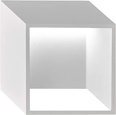 WOFI Interior, salón, Pared, lámpara, Color Blanco, clásica, 5.5 W