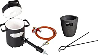 5 Kg Propane Melting Furnace Kit w/No 5 Kg Clay Graphite Foundry Crucible w/and 19
