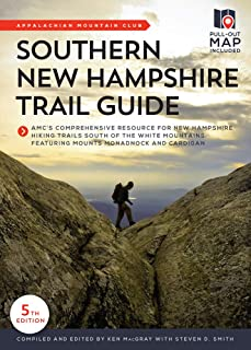 Southern New Hampshire Trail Guide: AMC's Comprehensive Resource for New Hampshire Hiking Trails South of the White Mountains, featuring Mounts Monadnock and Cardigan