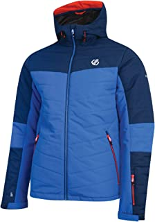 Dare 2b Mens Anomaly Waterproof /& Breathable High Loft Insulated Ski /& Snowboard Jacket With Grown on Hood and Snowskirt Waterproof Insulated Jackets