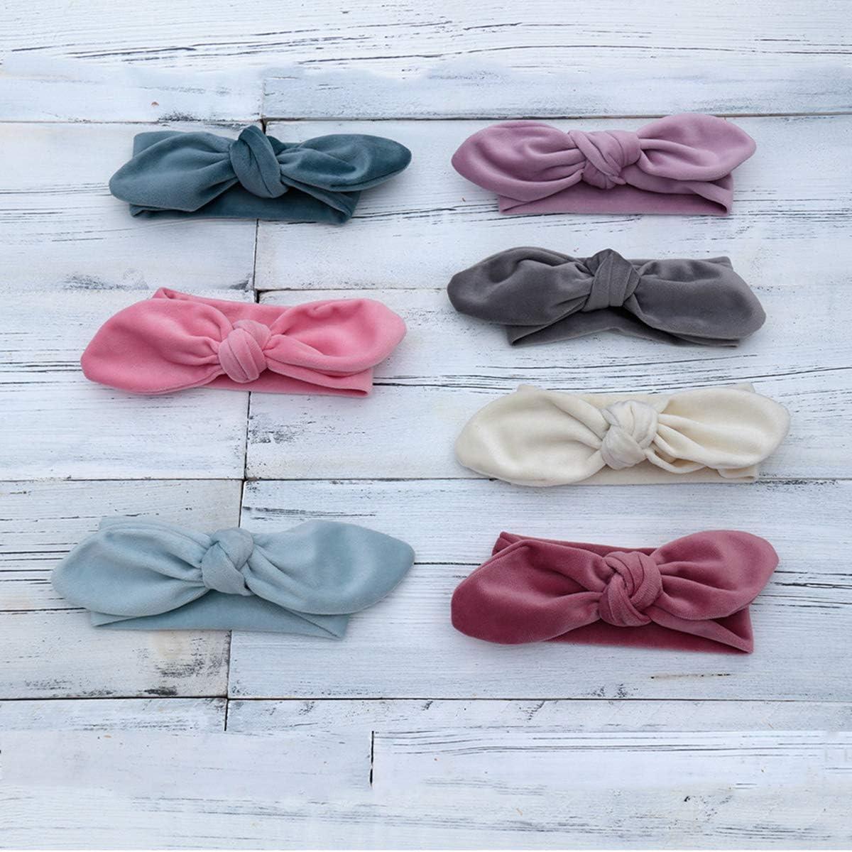 Stirnband Neugeborene Dusche Geschenk f/ür Das Schie/ßen Aisheny 2 St/ück Baby Fotografie Requisiten Super Weiches Samt Posing Kissen