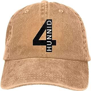 KkdsKkds 4hunnid Cowboy Hat for Men Women Outdoor Adjustable Washed Sport Sun Hat Adult Baseball Cap Black