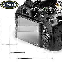 QIBOX Screen Protector Compatible Nikon D3400 D3500 D3300...