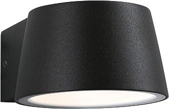 Paulmann 94452 lampa zewnętrzna LED Capea IP44 ciepła biel wraz z 1 x 6 W oświetlenie zewnętrzne czarna lampa zewnętrzna a...