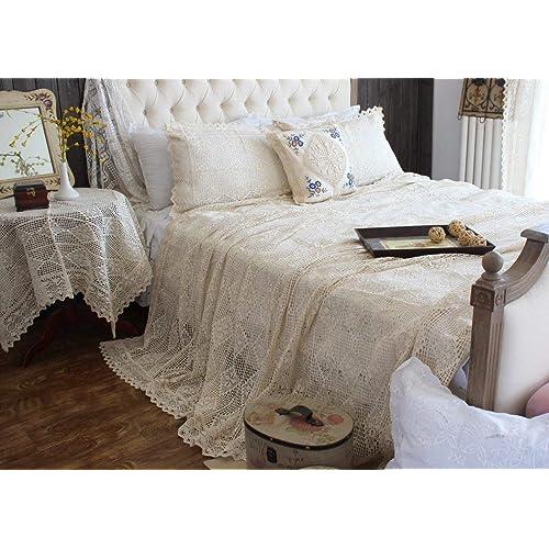 Crochet Bedspread Amazon Com