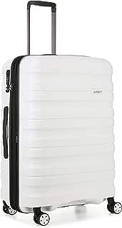 Antler 4227100016 Juno 2 4W Medium Roller Case Suitcases (Hardside), White, 68 cm