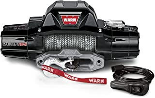 Warn 95950 Zeon 12-S Electric Winch with Spydura Synthetic Rope-12,000 lbs. Capacity