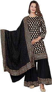 Kanshi Women's Rayon Salwar Suit