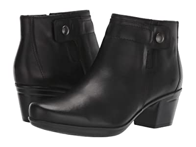 Clarks Emslie Jada (Black Leather) Women
