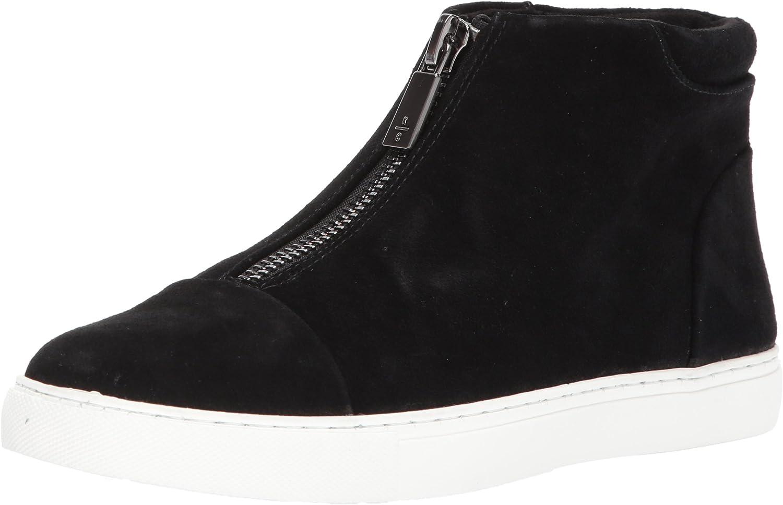 Kenneth Cole New York Womens 7 Kayla Front Zip Sneaker Bootie Sneaker