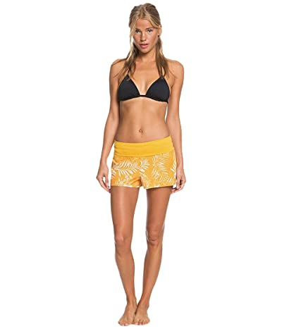 Roxy Endless Summer Print Boardshorts (Mineral Yellow) Women