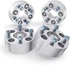 2 inch Golf Cart Wheel Spacers (4x4 Bolt Pattern, 59mm Bore, 1/2x20 Studs, Cone Seat Nuts) Compatible with many EZ GO EZGO Club Car (Widens Track by 4 inches) 4x101.6 50mm 4pcs