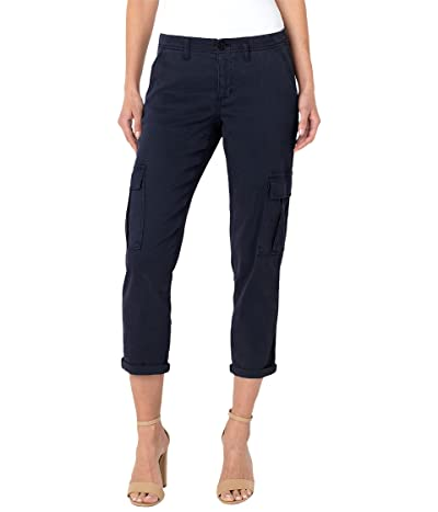 Liverpool Cargo Crop Pants with Cuff