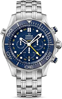 Seamaster Blue Dial Stainless Steel Mens Watch 21230445203001