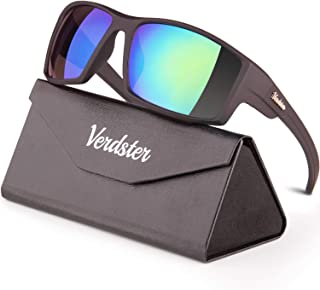 Verdster Dublin Sports Sunglasses for Men & Women - Comes with A Foldable Case - Great for Sports & Driving