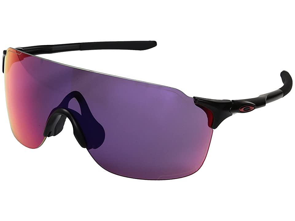 Oakley Evzero Stride (Matte Black w/ Prizm Road) Fashion Sunglasses