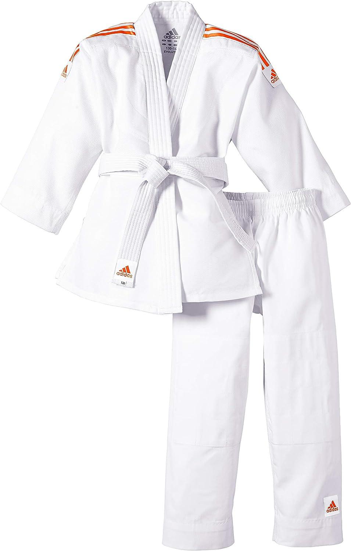 adidas Traje de judo para niños Evolution (incl. cinturón)