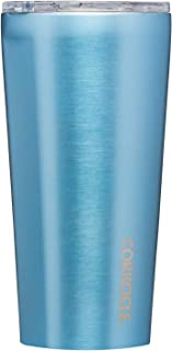 Corkcicle Tumbler - Classic Collection - Triple Insulated Stainless Steel Travel Mug, Moonstone Metallic, 16oz