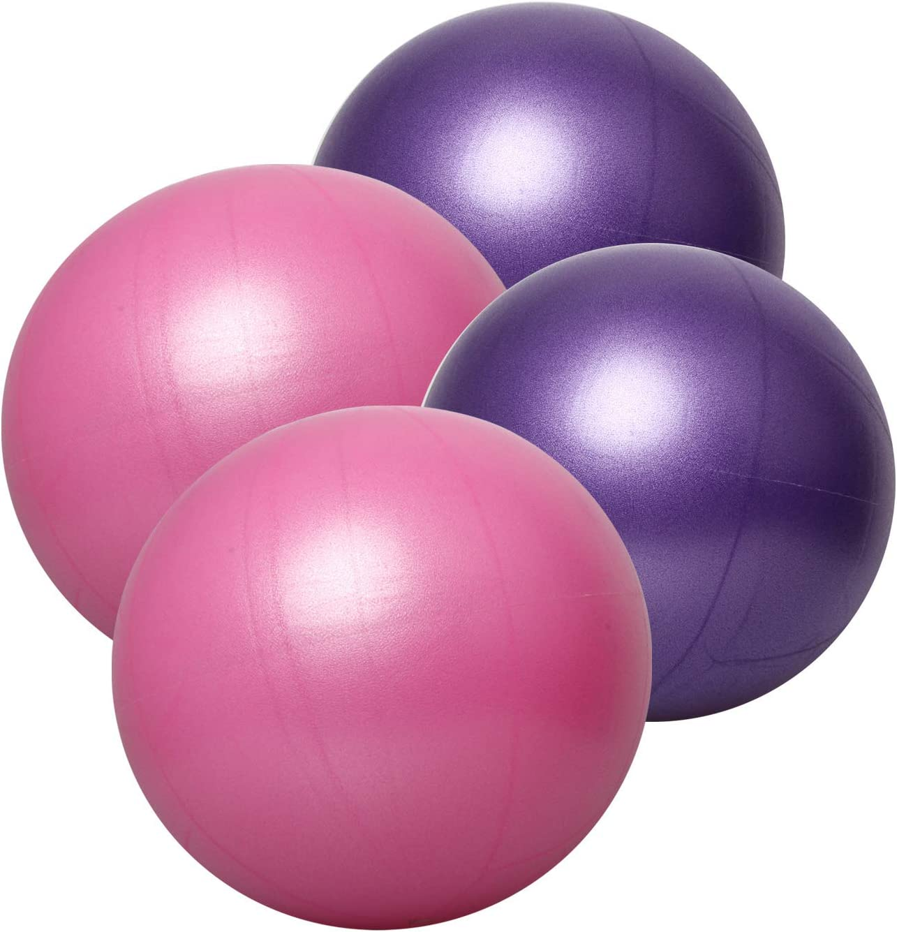 nononfish Exercise Ball Professional Grade Anti-Burst Fitness, Balance Ball for Pilates, Yoga, Birthing, Stability Gym Workout Training and Physical Therapy