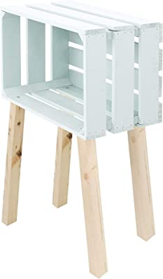 Table tiroir avec 1 cm x d'appoint Blanc 8 30 35 la 69 x FuTlKc31J
