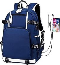 CVBGH Grote Capaciteit Laptoptas Vrije Tijd Waterdichte Rugzak Usb-Poort Student School Schooltas