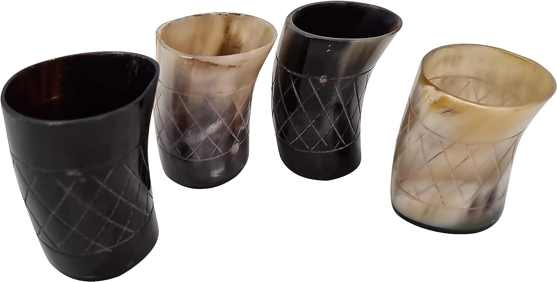Viking Large-scale sale Max 44% OFF Drinking Handmade Natural Horn Glass For Ale Med Beer Mug