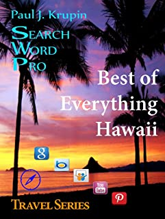 Hawaii, HI – The Best of Everything - Search Word Pro (Travel Series) (English Edition)