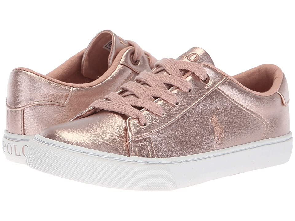 Polo Ralph Lauren Kids Easten (Little Kid) (Pink Metallic) Girl
