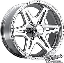 Ultra 208P Badlands 18x9 6x139.7 +12mm Polished Wheel Rim