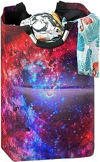 CaTaKu Panier à linge en nébuleuse pour chambre à linge Cosmic - Grande boîte de rangement imperméable et facile à transpo...
