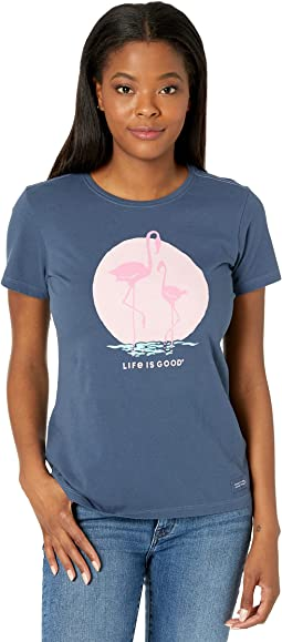 Crusher-Lite™ Tee Mama Flamingo