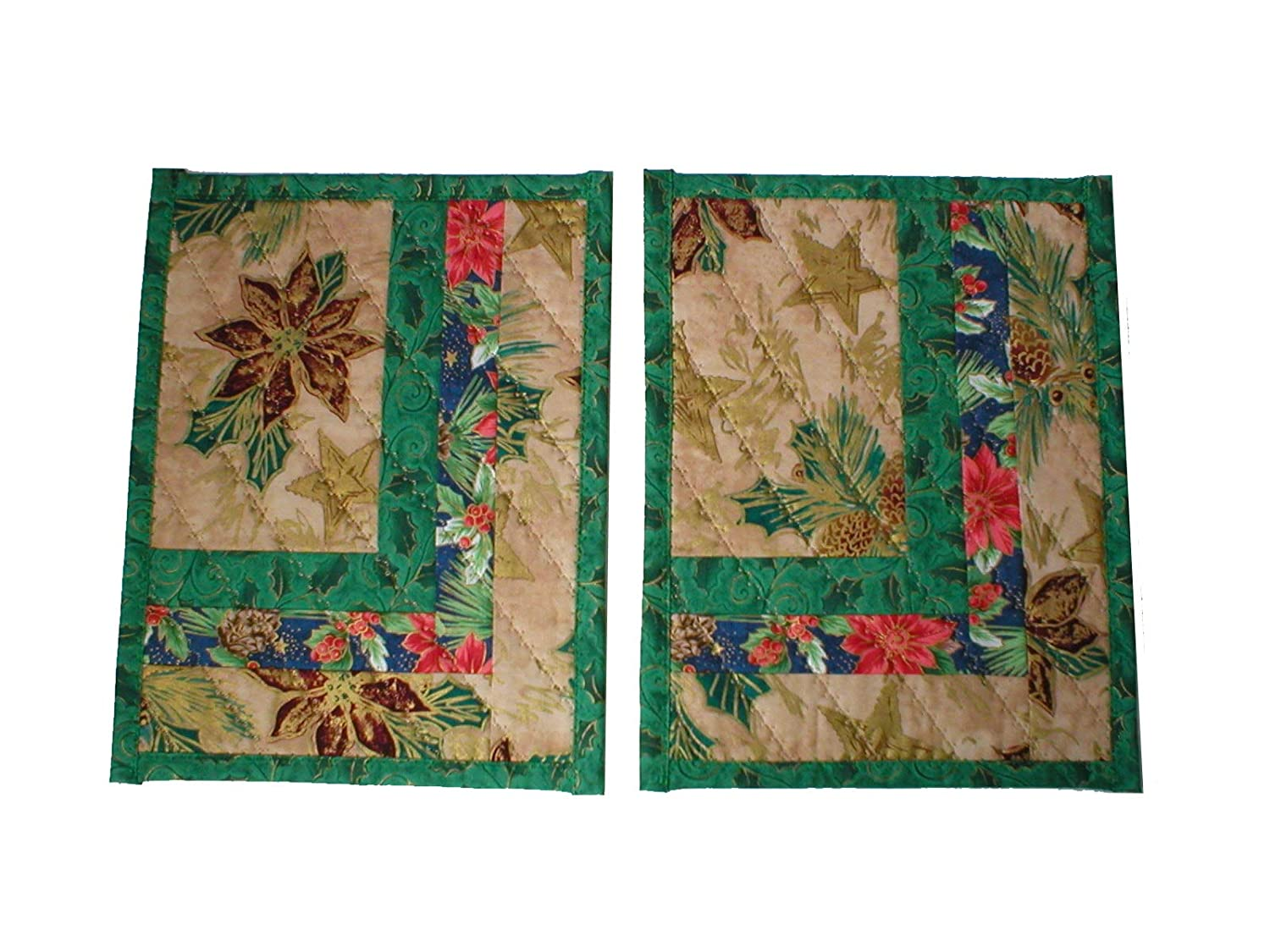 Handmade Mini Mats Spring new work one after another Set of Christmas 2 Elegant