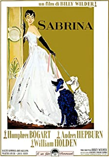 Posterazzi EVCMCDSABREC023H Sabrina Audrey Hepburn 1954 Movie Poster Masterprint 11 x 17