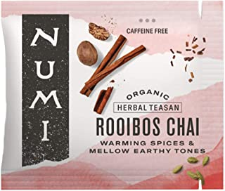 Numi Organic Tea Rooibos Chai,Box of Tea Bags, Herbal Teasan, Caffeine-Free (Packaging May Vary), 100 Count (Pack of 1)