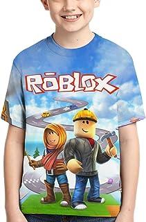 HUAJIELONG Kids T-Shirt 3D Print Child Tee Tops for Boys & Girls