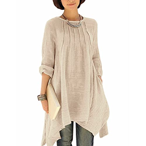 Linen Tunics Amazon Co Uk