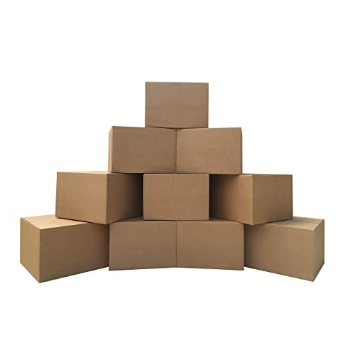 """uBoxes 10 Extra Large Moving Boxes 23x23x16"""" Standard Corrugated Moving Box"""