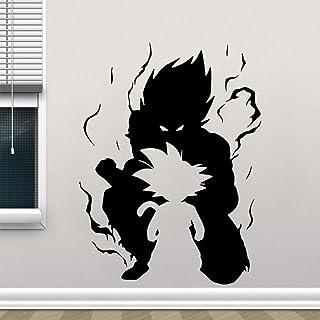 Dragonball Z Anime Manga Wandtattoo Wandaufkleber Wandsticker Wall Stickers