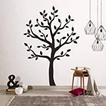 Timber Artbox Large Black Tree Wall Decal - The Easy to Apply Yet Amazing Decoration for Your Home