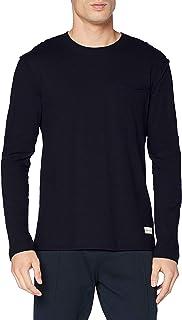 Marc O'Polo Body & Beach Men's Mix M-Shirt Ls Crew-Neck Pajama Top