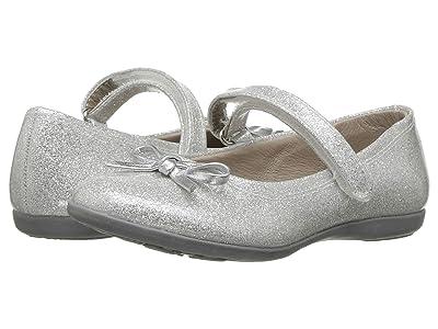 Kid Express Rosie (Toddler/Little Kid/Big Kid) (Silver Glitter Patent) Girls Shoes